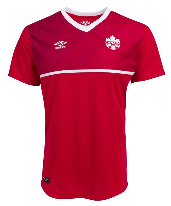 New Canada Soccer Jersey 2015