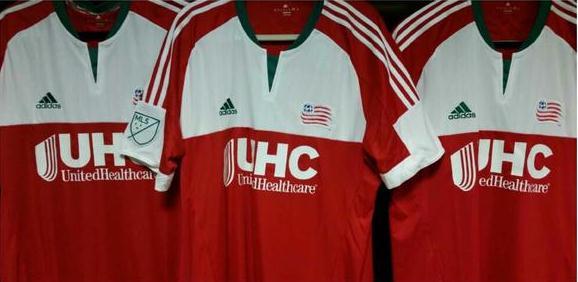 New England Revolution Away Jersey 2015