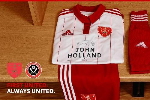 New SUFC Home Kit 2015-16 Sheffield United Adidas Home Shirt 15/16