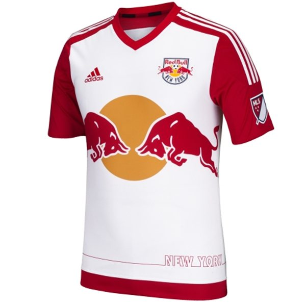 New York Red Bulls Home Jersey 2015- New NYRB Home Kit 2015 Adidas