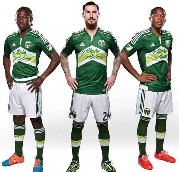 Portland Timbers Home Kit 2015