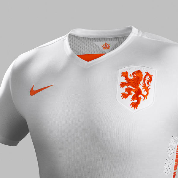 White Netherlands Jersey 2015-16- New Holland Away Kit 15-16 Nike