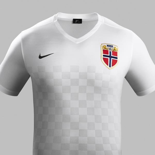 White Norway Football Shirt 2015 2016