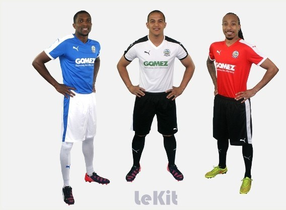 Dover Athletic Kit 2015 16