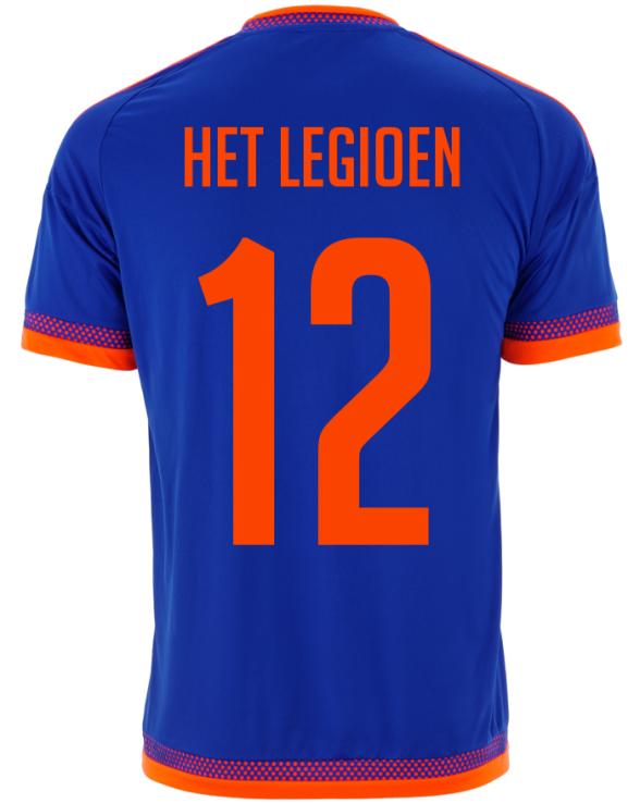 Feyenoord Away Shirt 2015 16 Back