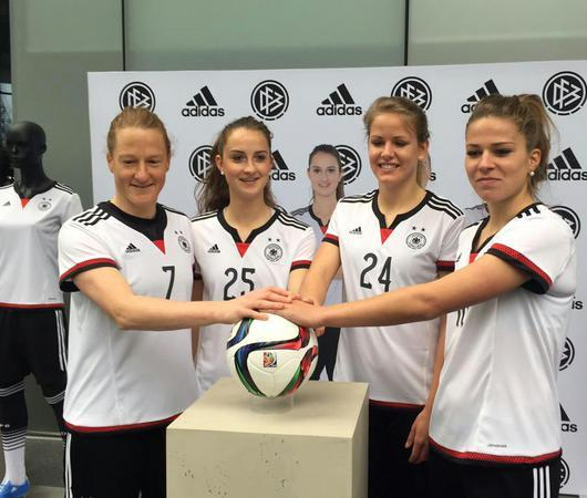 New Germany Womens World Cup Jersey 2015- Adidas German WWC Shirt 2015