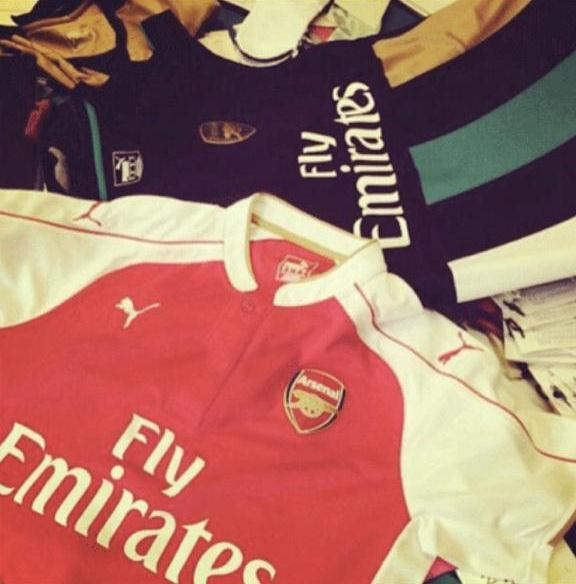 Leaked Arsenal Home Alternate Kits 15-16 by Puma