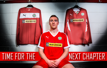 New Cliftonville Kit 2015 16