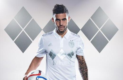 Sporting Kansas Third Jersey 2015- New Sporting KC Silver Kit 2015 MLS