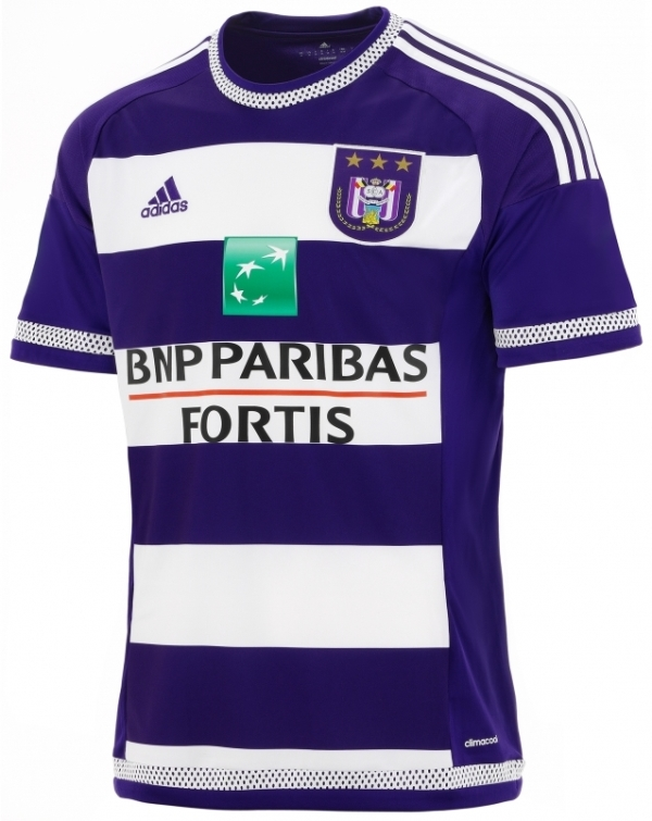 New Anderlecht Shirt 2015-16 RSCA Home Jersey 2015-2016