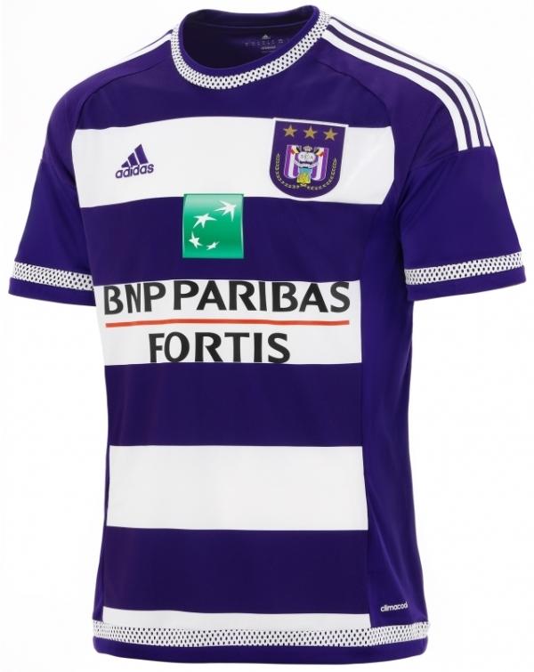 New Anderlecht Shirt 2015-16 RSCA Home Jersey 2015-2016