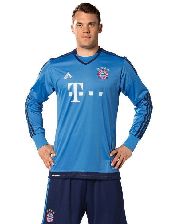 Bayern Munich Goalkeeper Kit 2015 2016