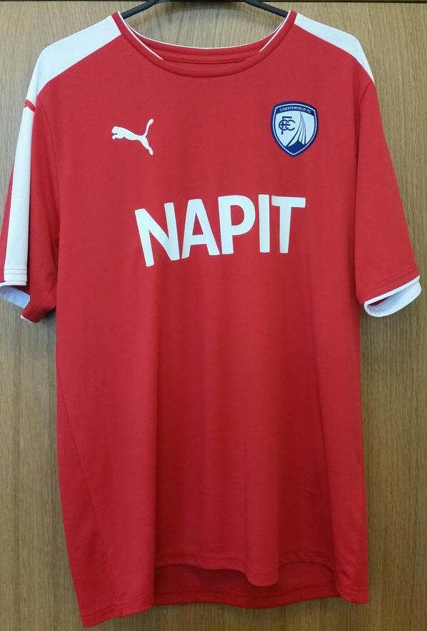 Chesterfield Away Kit 2015 16