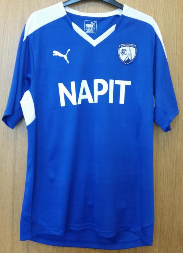 Chesterfield Home Shirt 2015 16