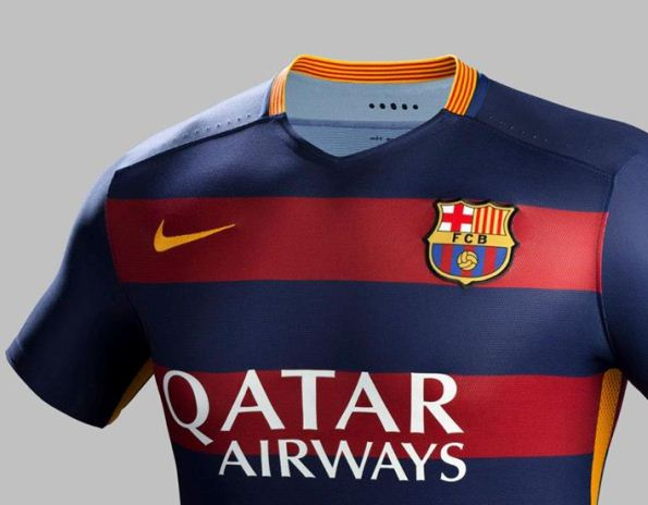 Official- New Barcelona Strip 15-16 Barca Home & Away Kits 2015-2016