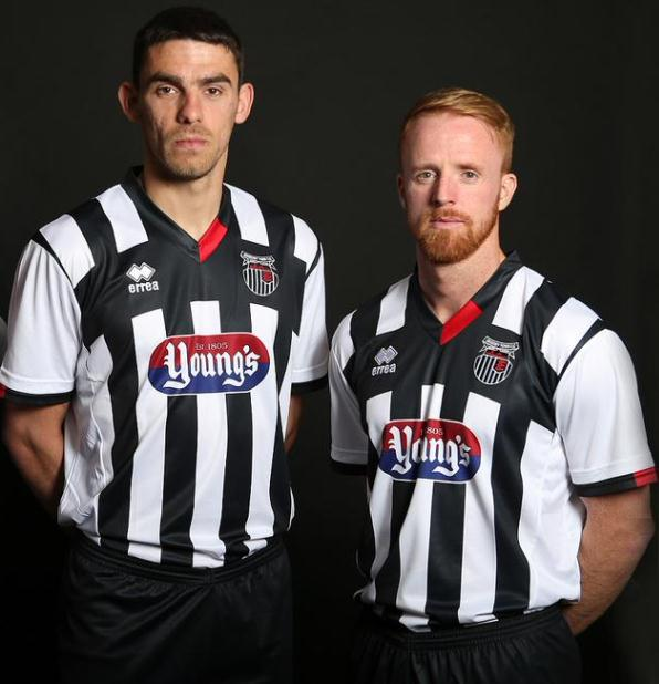 New Grimsby Town Kit 2015-16 Grimsby Errea Shirt 15-16