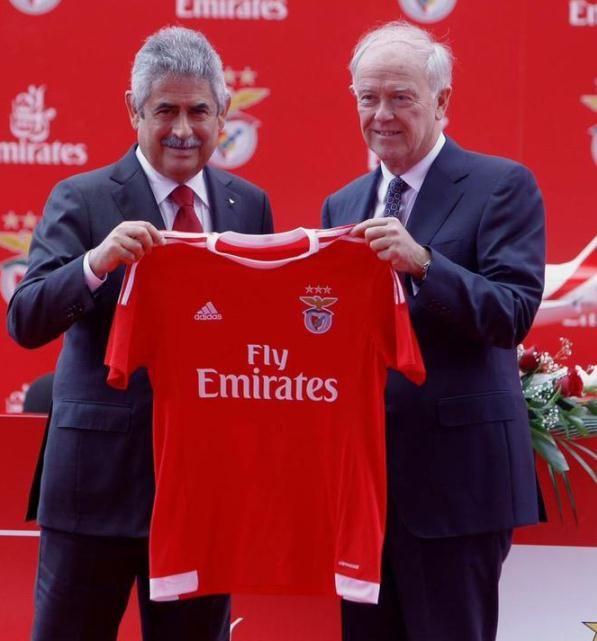 Adidas New Benfica Kit 15-16 SL Benfica Fly Emirates Sponsorship deal