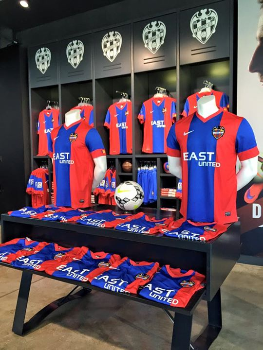 New Levante Kit 15 16 Nike Levante Ud Home Jersey 2015