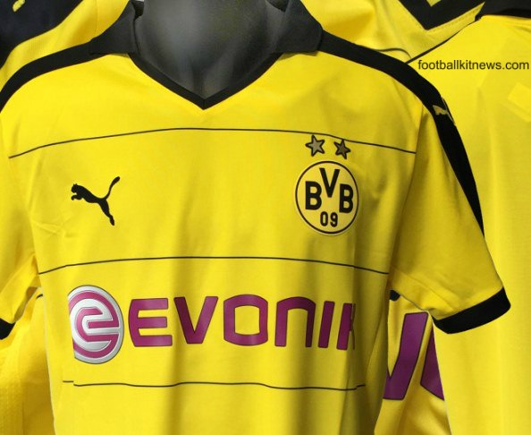 Leaked Dortmund Kit 2015 16