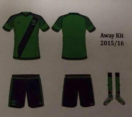 Leaked Southampton Away Kit Green