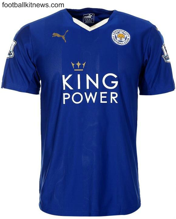 Leicester Home Shirt 2015 16