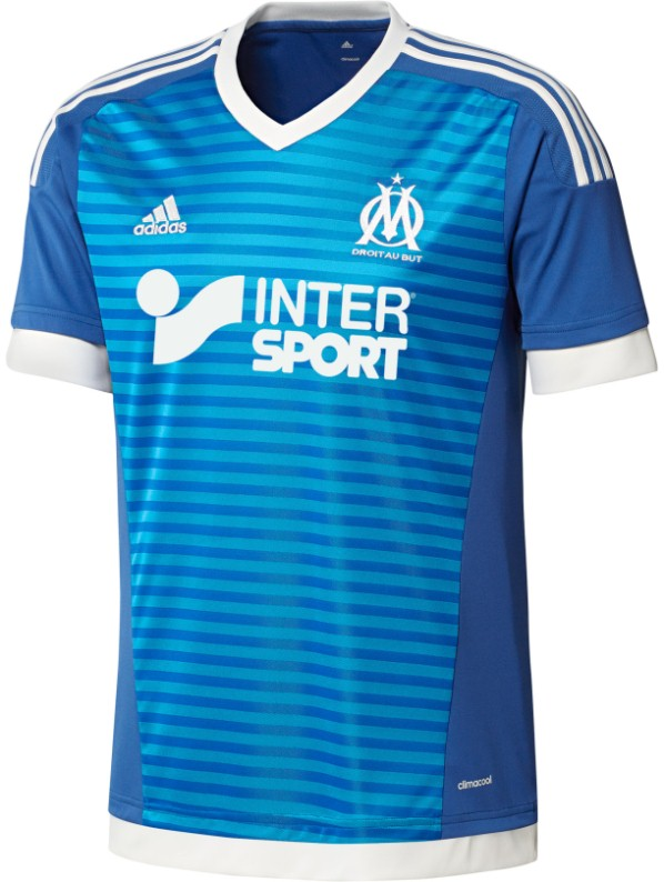 New Marseille Kit 2015-2016 | Olympique Marseille Home Third Jerseys 15-16 Adidas