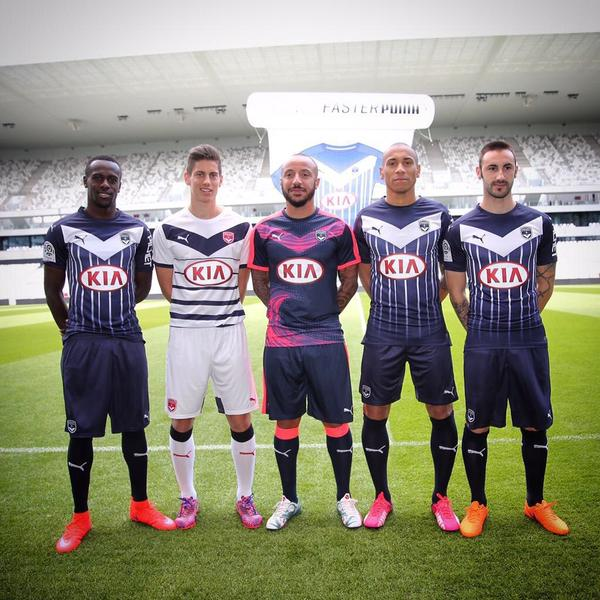 New Bordeaux Jersey 2015-2016 Puma Home Away Third Shirts Girondins