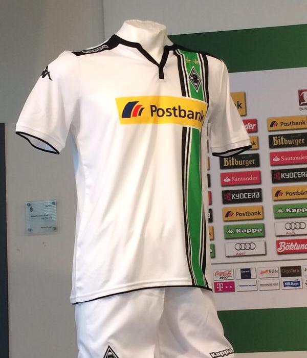 New Borussia Monchengladbach Kit 15-16- Kappa Gladbach Jersey 2015-2016