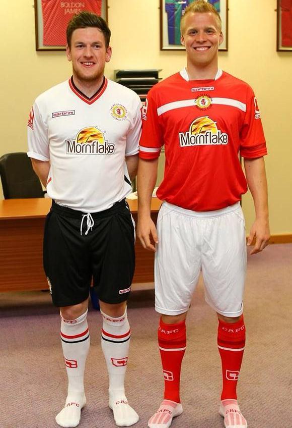 New Crewe Alex Shirt 2015 16