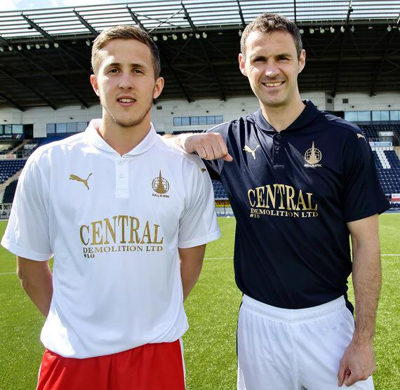 New Falkirk FC Strip 2015-16- Falkirk Puma Kit 15-16 Home Away