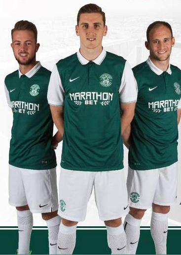 New Hibs Kit 2015 16