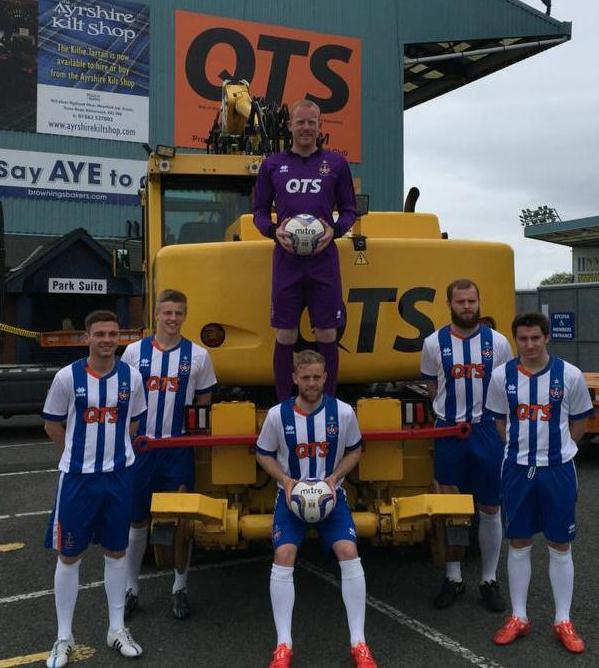 New Kilmarnock Strip 15-16 Killie FC Home Kit 2015-16 by Errea