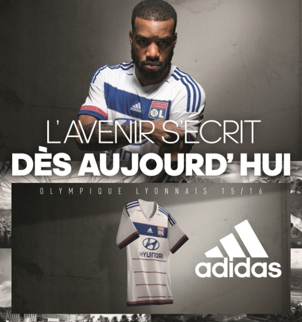 New Lyon Jersey 2015-2016 | Adidas Olympique Lyonnais Red Away Kit 15-16
