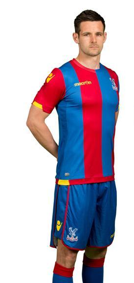 New Palace Kit 15-16 Mansion Sponsor Crystal Palace Macron Shirts 2015-2016 Home Away