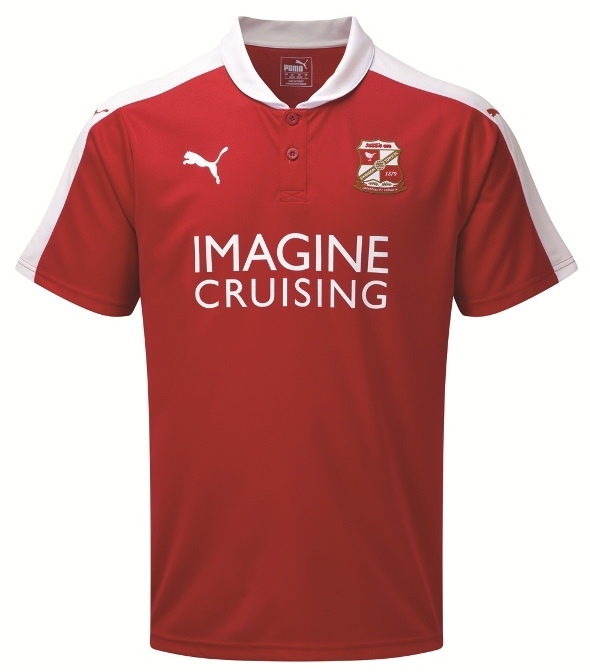 Swindon Puma Kit 2015-16- New Swindon Town Shirts 15-16 Home Away