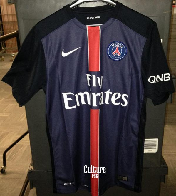 Leaked PSG Home Jersey 2015-2016