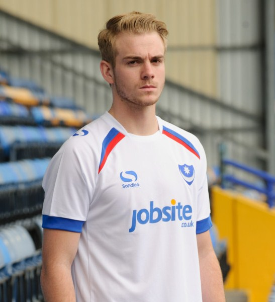 Pompey Away Shirt 2015 16
