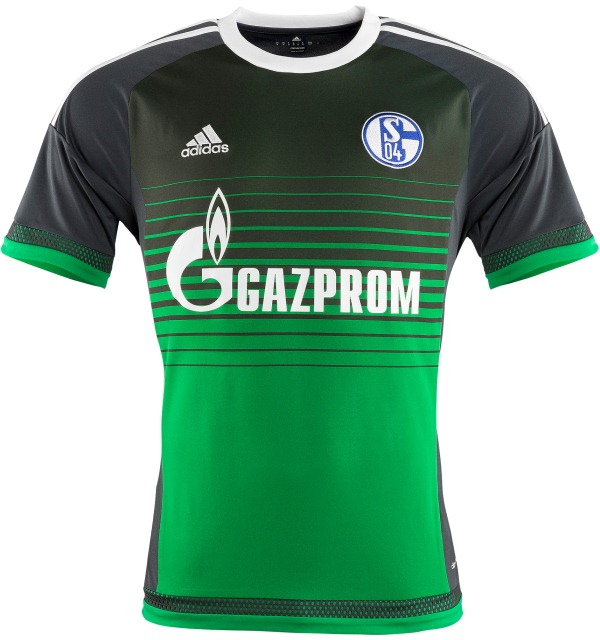 Schalke Third Kit 15-16- New S04 Alternate Jersey 2015-2016 Adidas