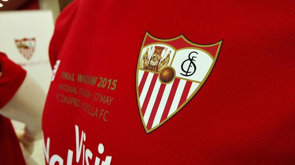 Sevilla Europa League Final Kit 2015 vs Dnipro by New Balance
