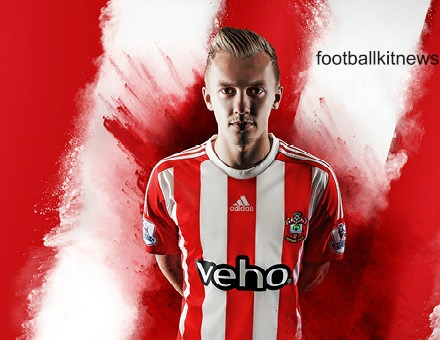 New Saints Kit 2015-16 Adidas Southampton Home Shirt 15-16
