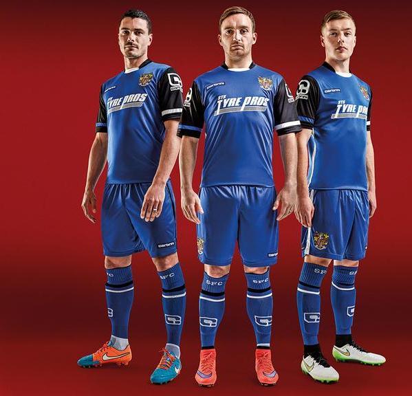 Stevenage FC Away Kit 2015 16