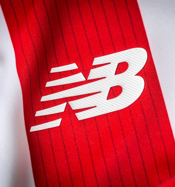 Stoke City NB Shirt Closeup