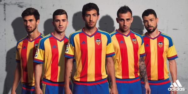 Valencia Away Kit 2015 16