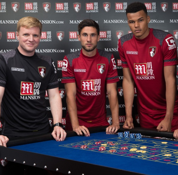 AFC Bournemouth Mansion Sponsorship deal- Kit sponsor for 2015/16 Premier League season