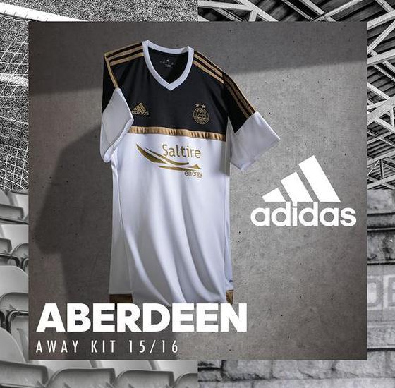 Aberdeen Away Shirt 15 16