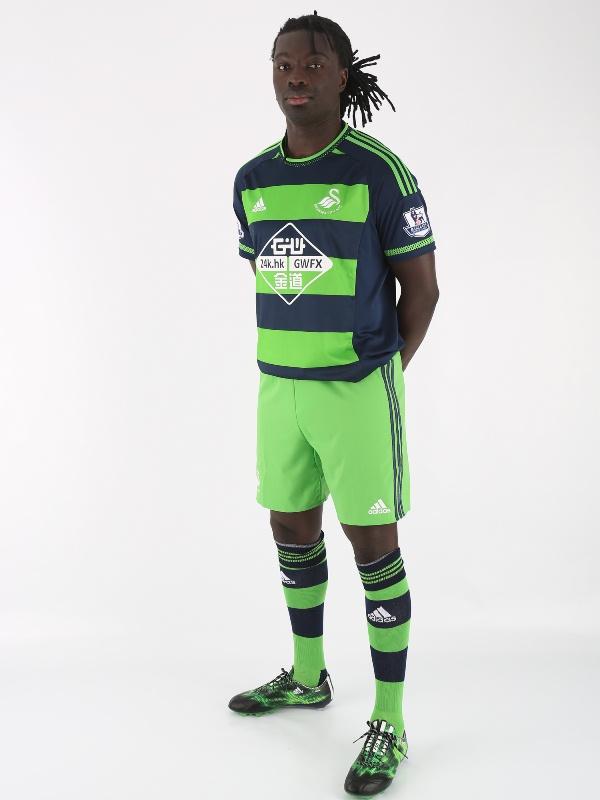 Bafetimbi Gomis Swansea Shirt 2015