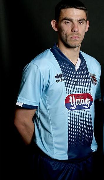 Blue Grimsby Shirt 2015 2016