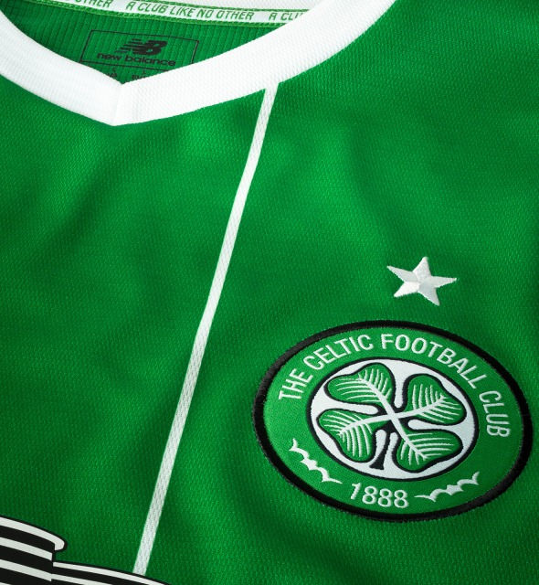 Celtic Away Shirt Crest