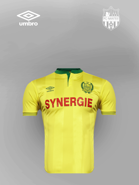 FC Nantes Umbro Jersey 2015-16 Nantes New Umbro Home Kit 15-16