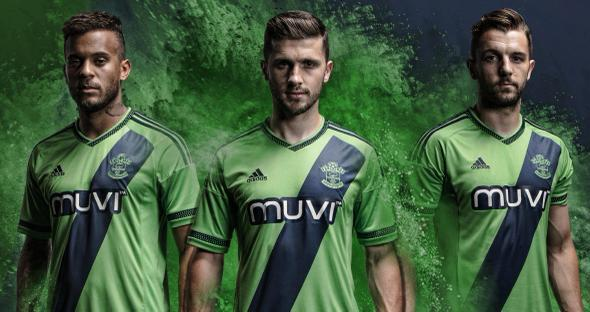 Green Southampton Shirt 15-16 Adidas Saints Away Kit 2015-2016